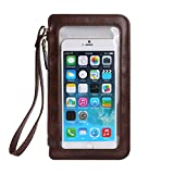 Touch Screen Cell Phone Wrist Pouch Crossbody Holster Bag Fit for Samsung, for LG, for Motorola, for Nokia, for Google, for Alcatel