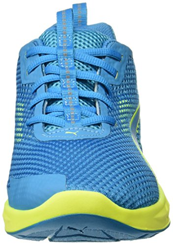 Puma Herren Ignite Ultimate 2 Laufschuhe BLUE DANUBE-Safety Yellow