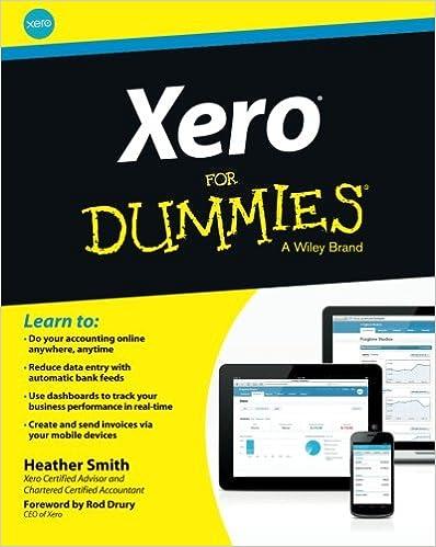 Amazon com: Xero For Dummies (9781118572559): Heather Smith, Rod