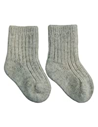 Wee Dreamers Baby Socks Wool Organic, Newborn Baby Gifts 0-3 6-12 12-24 months