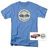 Automotive : Popfunk Chevy Corvette Convertible Vintage Logo GM Car T Shirt & Stickers (XXX-Large)