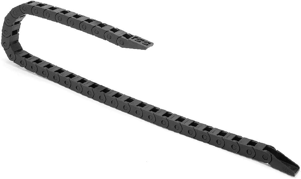 X-Dr R15 7mm x 7mm Black Plastic Cable Wire Carrier Drag Chain 1M Length for CNC (6ac2bf46-a222-11e9-8d7c-4cedfbbbda4e)