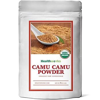 Healthworks Camu Camu Powder Raw Organic, 4 Ounce