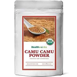 Healthworks Camu Camu Powder Organic, 4oz