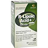 Genceutic Naturals R-Lipoic Acid Plus - 300 mg - 60 Vcaps (Pack of 2)