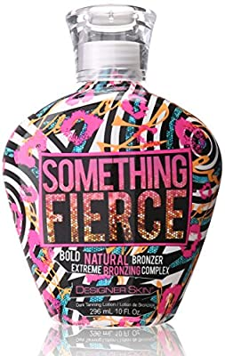 Designer Skin SOMETHING FIERCE - Bronzer Tanning Bed Lotion (10 Ounce)