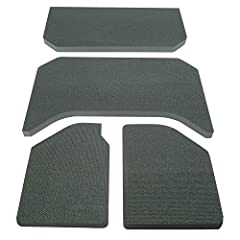 Riding in a Jeep is great fun except for the interior noise that makes it difficult to engage in conversations or even enjoy vehicle audio systems. Now there is an easy solution. Boom Mat's Jeep Wrangler Sound Deadening Head Liner provides a ...