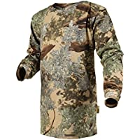 King's Camo Kids Camo Cotton Long Sleeve Hunting Tee