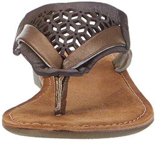 SPM Women's Scratchy Slipper Loafers Multicoloured (Bronze/Brown) 4PWpJ8
