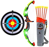 Toytykes Bow and Arrow Set for Kids - Green LED