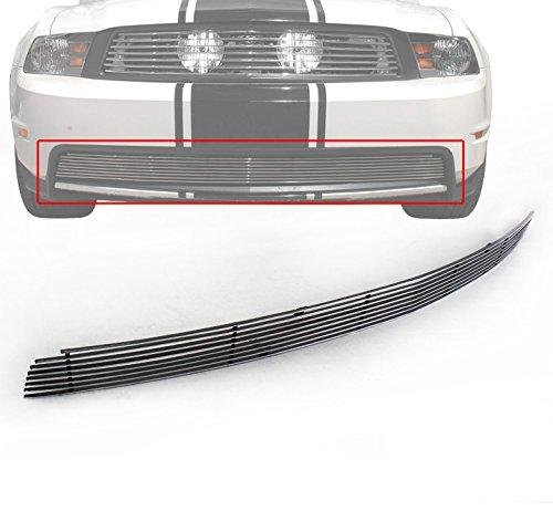 2012 Mustang Billet Grill - ZMAUTOPARTS Bumper Billet Grille Grill Insert For 2010-2012 Ford Mustang GT V8