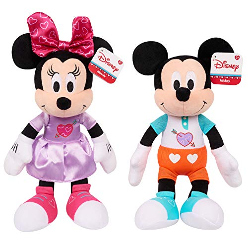 """Disney Valentine's Bean 9"""" Plush Mickey & Minnie(2Pack) for sale  Delivered anywhere in USA"""