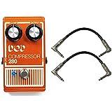 DOD 280 Compressor Pedal w/ 2 Patch Cables