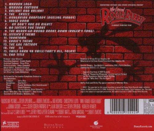 who framed roger rabbit original soundtrack amazoncouk music - Who Framed Roger Rabbit Soundtrack