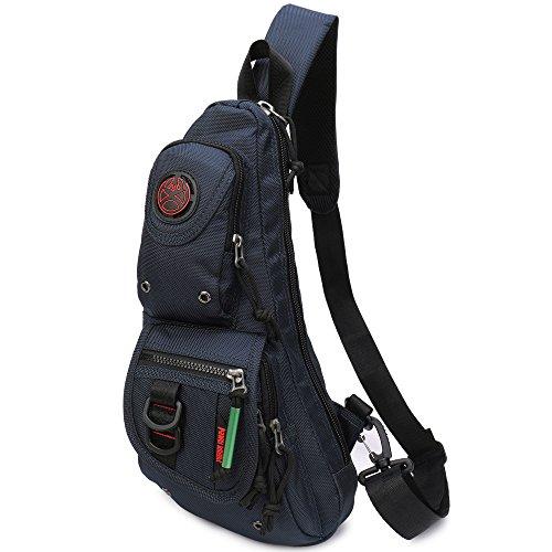 Sling Backpacks, Sling Chest Bags Shoulder Fanny Pack Crossbody Bags for Men  Women Outdoor Travel c0d74ade25