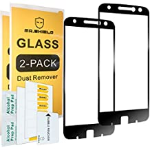 [2-PACK]-Mr Shield For Motorola Moto Z Force Droid Edition [Tempered Glass] [Full Cover] Screen Protector with Lifetime Replacement Warranty