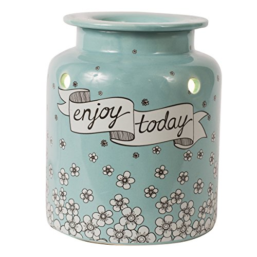 Scentsationals Enjoy Today scented Wax warmer (Teal)