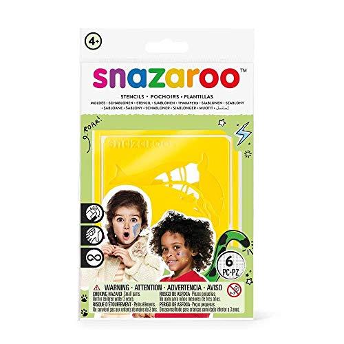 Snazaroo Rainbow Stencils - Set of 6 ()