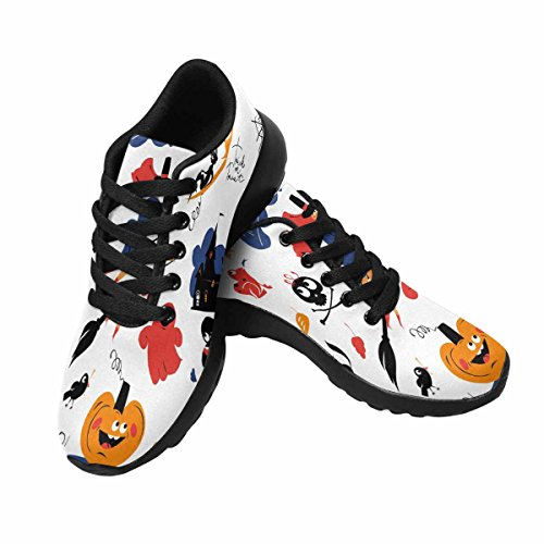 Scarpa Da Jogging Leggera Da Donna Running Running Leggera Easy Go Walking Comfort Sport Scarpe Da Corsa Halloween Set Multi 1