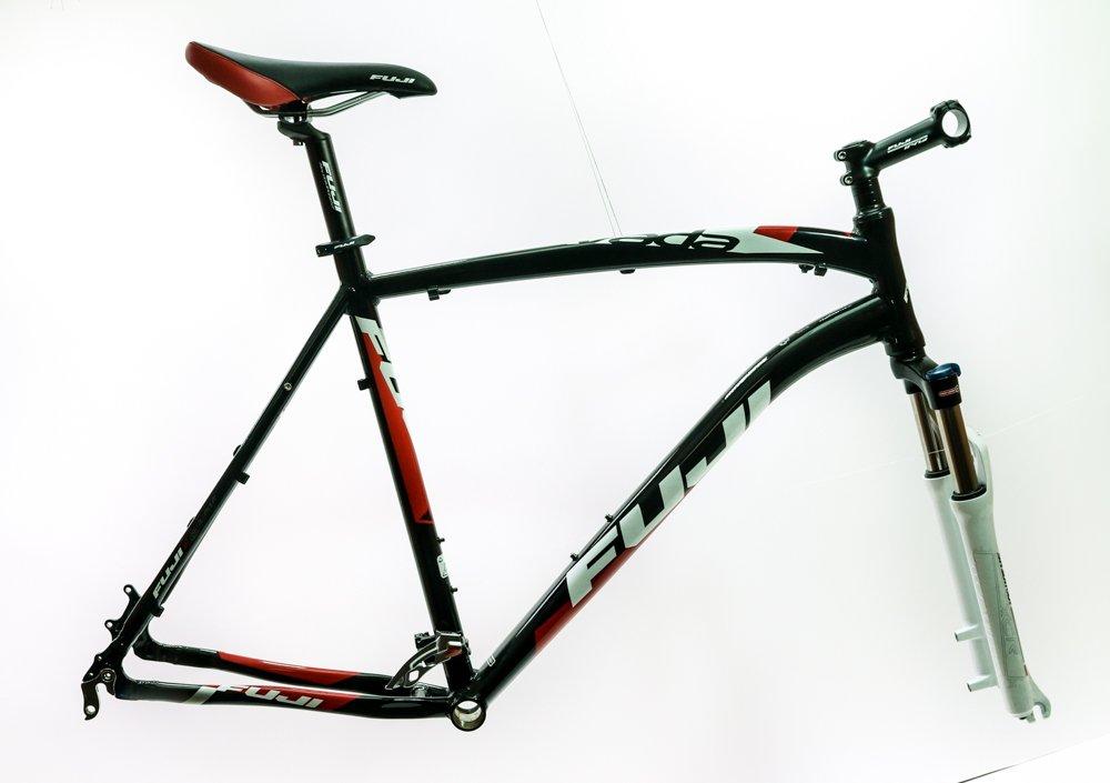 Fuji Nevada 1.0 23'' / 26'' 6061 Alloy Hardtail MTB Bike Frame Fork + Extras NEW by Fuji (Image #1)