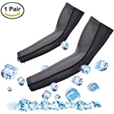 Arm Sleeves for Men Women UV Protection Anti-slip Cooling Arm Sleeves