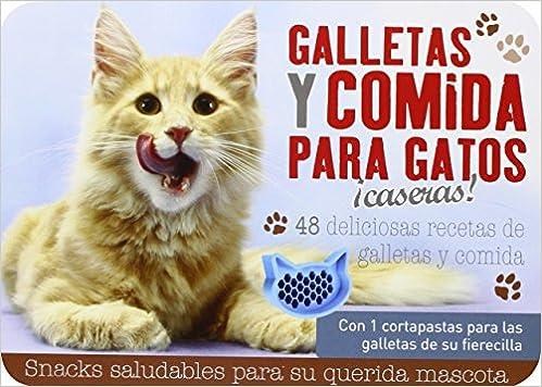 Galletas Y Comida Para Gatos ¡Caseras!: Amazon.es: Vv.Aa, Vv ...