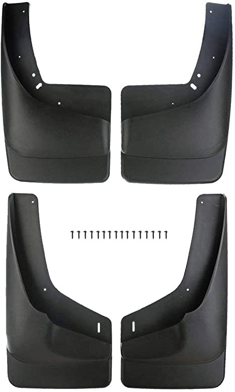 Front Rear Mudflaps For GMC Yukon XL 2007-2014 Mud Flaps Mudguards Splash Guards
