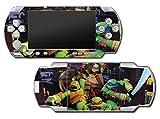 Teenage Mutant Ninja Turtles TMNT Leonardo Leo 3D TV Cartoon Movie Video Game Vinyl Decal Skin Sticker Cover for Sony PSP Playstation Portable Original Fat 1000 Series System