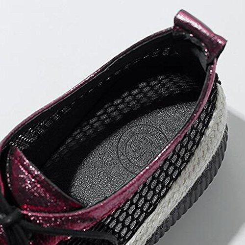 Colore Scarpe a dimensioni con Scarpe Scarpe fondo UK6 con B molle casual CJC zeppa B morbide maglia con Scarpe EU39 5fqxEw76
