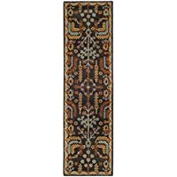 Safavieh Heritage Collection HG409A Charcoal Grey and Multi Runner (23 x 8)