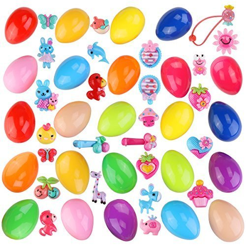 Toy Filled Easter Eggs for Easter Party Supplies with 24pcs