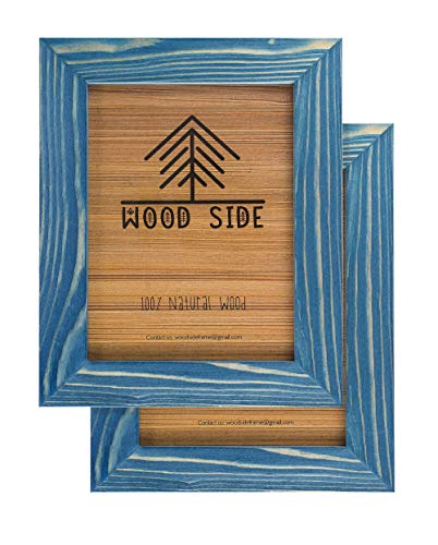 Rustic Wooden Picture Frame 5x7 Inch - Set