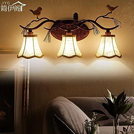 Moderna Retras Creativas Lámpara De Pared Para Sala De Estar ...
