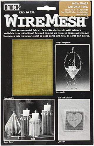 AMACO WireMesh #80, 16-Inch by 20-Inch Sheet, (Fine Screen Mesh)