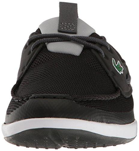 Lacoste Mens L.andsailing 117 1 Sneaker Casual Moda Scarpa Nera
