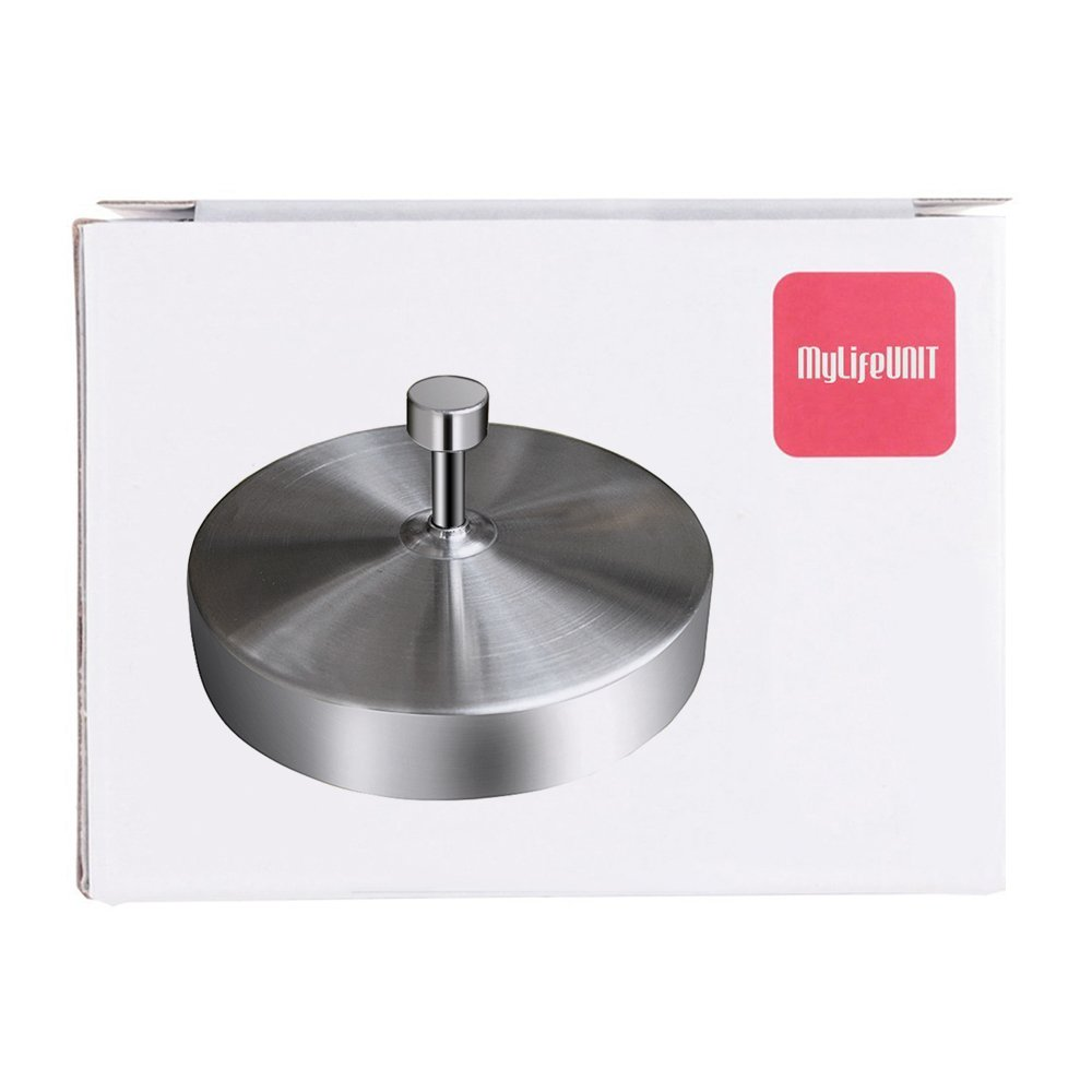 Stainless Steel Stuffed Burger Press for Barbecue WS-7JWU-WDK6 MyLifeUNIT Hamburger Patty Maker