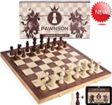 Wooden Chess Set for Kids and Adults - 15 Staunton Chess Set