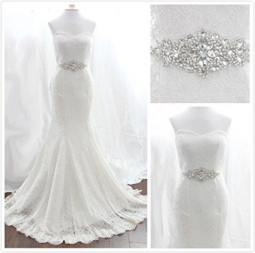 Sashwedding Dress Sash: Trlyc Wedding Dress Belt Bridal Sash Pearls Rhinestone