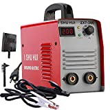 ARC Welder - Portable IGBT ARC MMA 1PH 200 Amp for 2.5/3.2mm Electrodes,160V-250V High Frequency Welder with Ground Clamp, Inverter SHU HUI Welding Machine mma-200