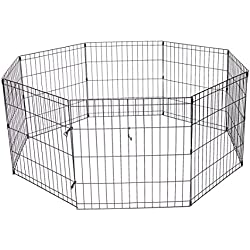 """ProSelect Crate Appeal Exercise Pen for Dogs and Pets - Black; Extra Small, 18""""H; Small, 24""""H; Medium, 30""""H; Medium/Large, 36""""H; Large, 42""""H; Extra Large, 48""""H"""
