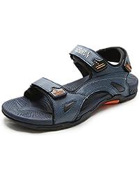 Mens Sandals Summer Outdoor Beach Open-Toe Shoes