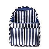 Comolife Purse Organizer Insert, Felt Bag Organizer, Speedy Handbag Insert Light Backpack Organizer Insert with Zipper For Men Women Mummy Coach MCM LV Organizer Small Meidum (Blue-striped) -  Como Life