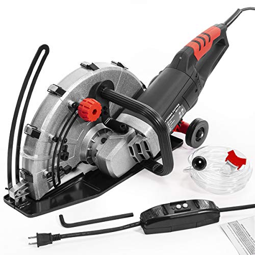 """XtremepowerUS 2600W Electric 14"""" Disc Cutter Circular Saw Power Angle"""