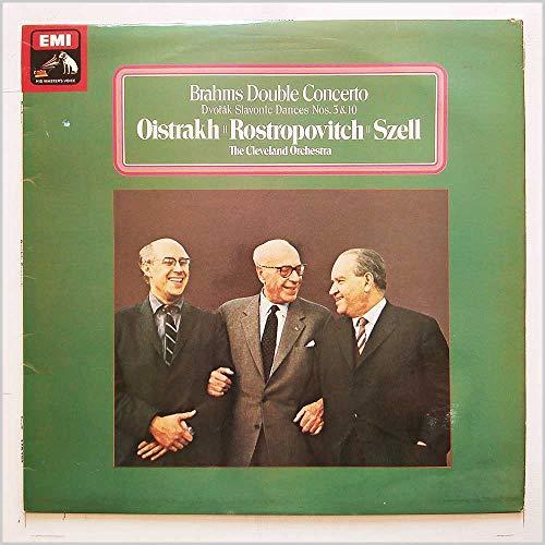 Brahms: Double Concerto, Dvorak: Slavonic Dances Nos. 3 and 10 [LP]
