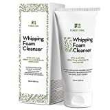 Green Tea Cleansing Effect - Forest Heal Foaming Facial Cleanser - Coconut Based Exfoliating Face Wash with Aloe Vera, Papaya Extract, Green Tea - Natural Antioxidant Cleansing Foam (6.08 Fl Oz.)