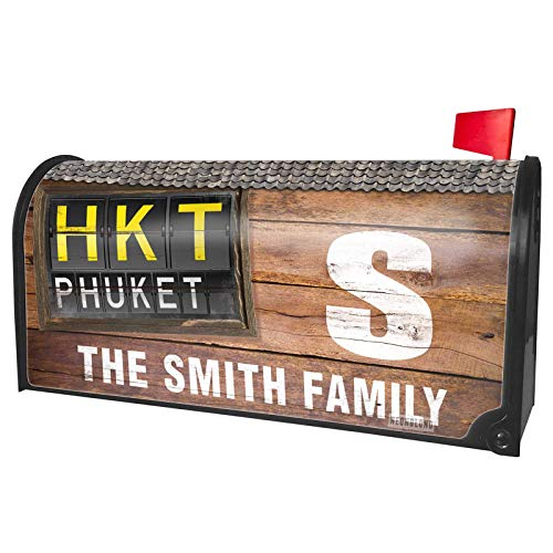 (NEONBLOND Custom Mailbox Cover HKT Airport Code for Phuket)