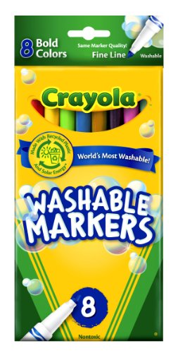 Crayola Count Washable Markers Colors