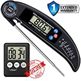 Sukyodo Digital Food Meat Thermometer – Instant Read, Folding...