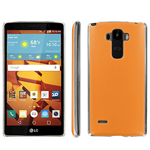 [ArmorXtreme] Phone Case for LG G Stylo LS770 / LG G4 Note Stylus / LG G Stylo H631 / MS631 [Clear] [Ultra Slim Cover Case] - [Tangerine]