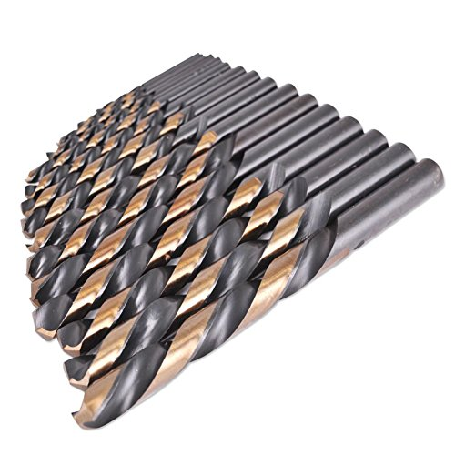 Industrial Usa Index - Domeiki 15pc Industrial USA Index Left Hand HSS Drill Bit Set